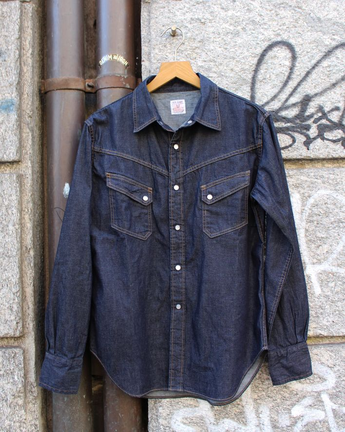 TCB RANCHMAN Denim Shirt 8.5 oz. indigo one wash_1