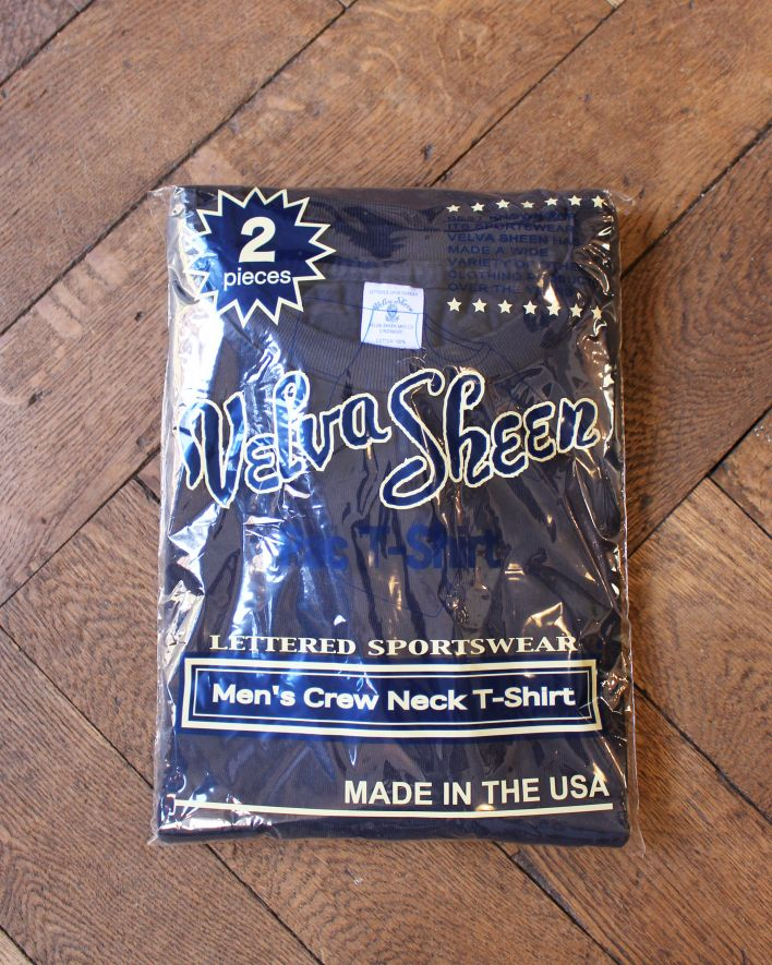 Velva Sheen 2 Pac Crew Neck T-Shirt navy_1