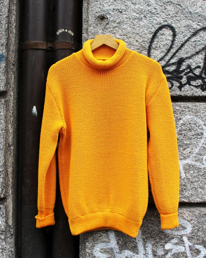 Heimat Mini Rollneck Sweater gold_1