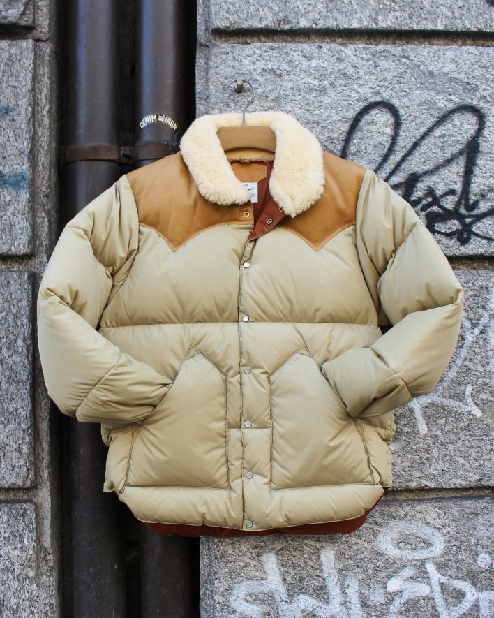 Rocky Mountain Featherbed Christy Down Jacket tan_1
