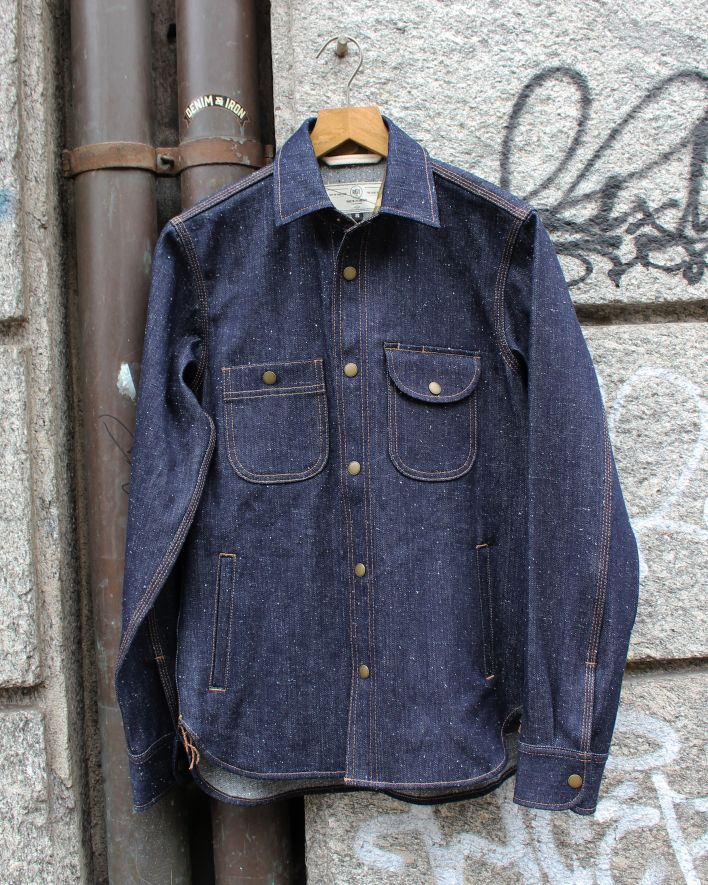 Rogue Territory Service Shirt 14oz. neppy denim_1