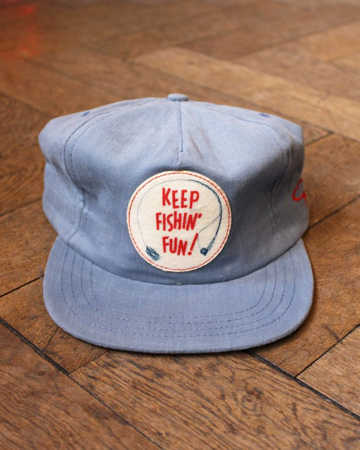 The Ampal Creative KEEP FISHIN FUN Cap light blue_1