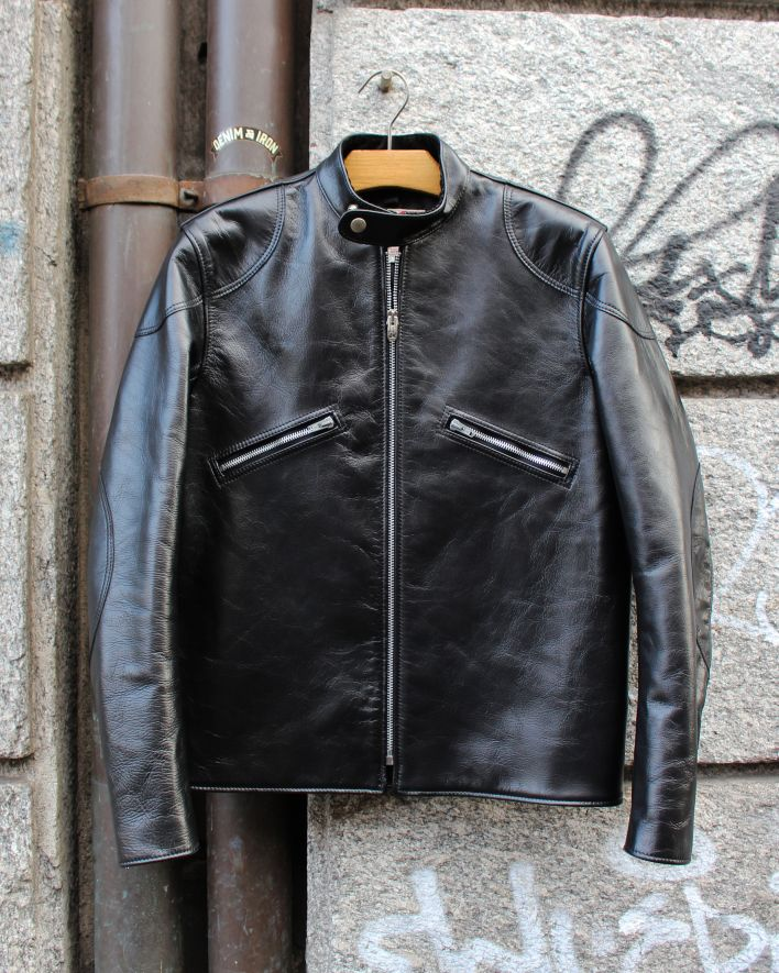 Addict Clothes AD-05 CLUBMAN Jacket Horsehide black_1