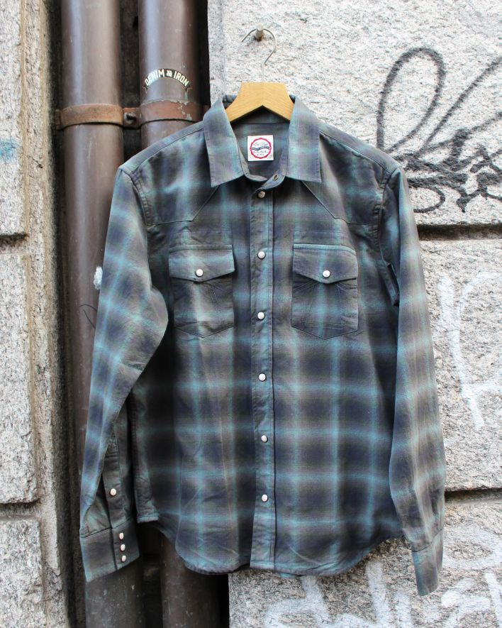 Eat Dust WESTERN Shirt Inverness Check green_1