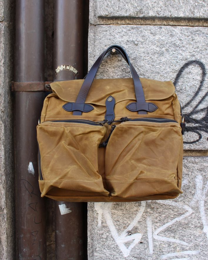 Filson 24 hour briefcase tan_1