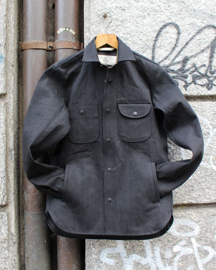 Rogue Territory Service Shirt 15oz stealth raw_1
