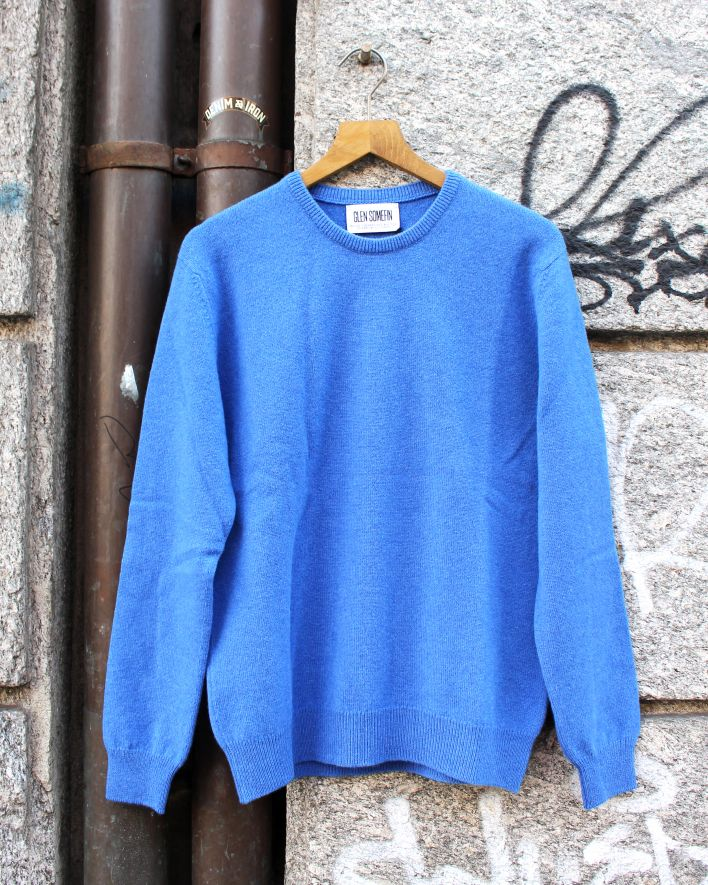 Glen Somefine Classic Sweater Lambswool tahiti_1