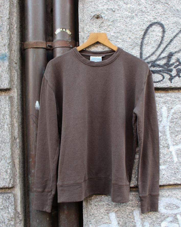 Jungmaven Tahoe Sweatshirt espresso brown_1