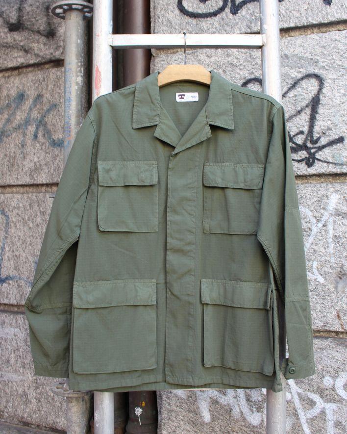 Tellason BDU Jacket Ripstop olive_1