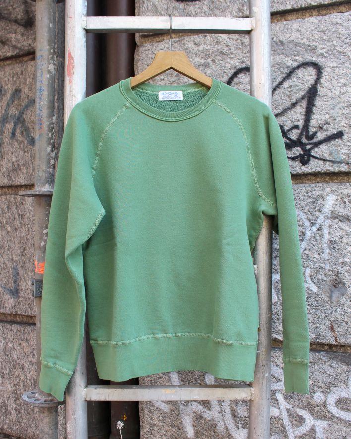 Velva Sheen FREEDOM Crew Neck Sweater 8 oz. pigment pine_1
