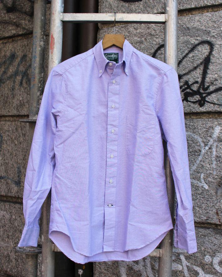 Gitman Vintage Oxford Shirt purple_1