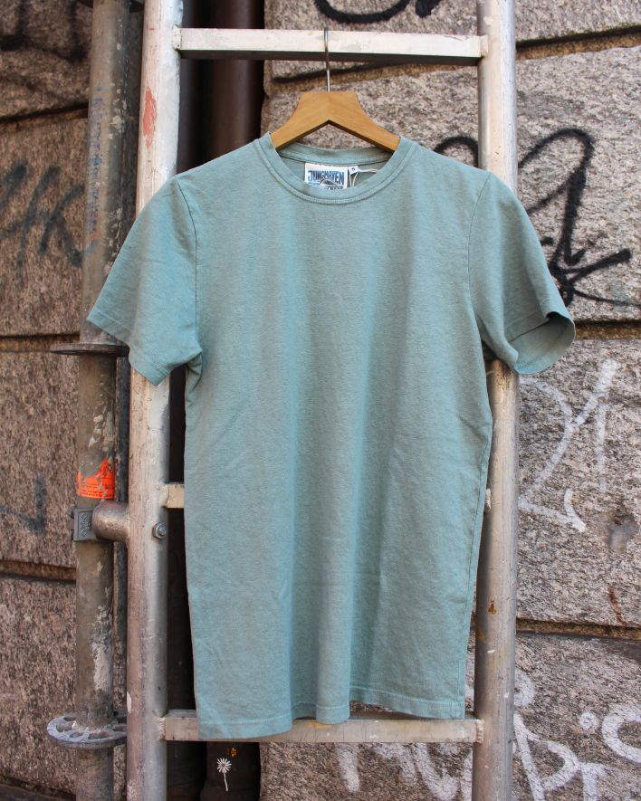 Jungmaven Baja T-Shirt clay green_1