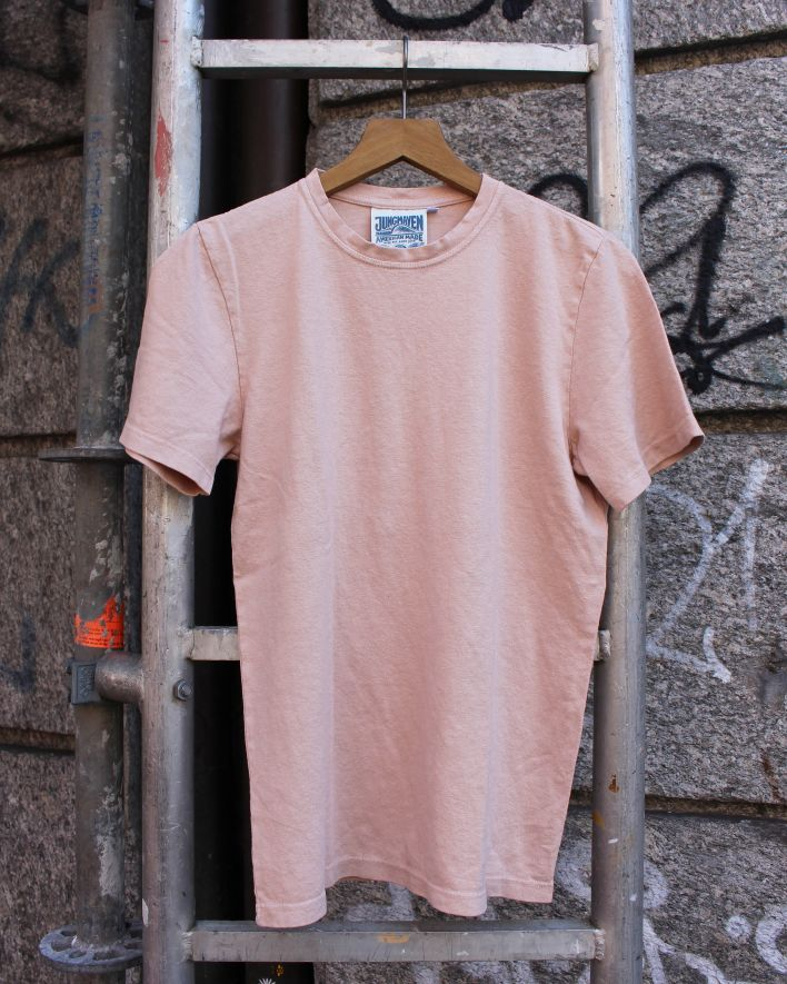 Jungmaven Baja T-Shirt dusty pink_1