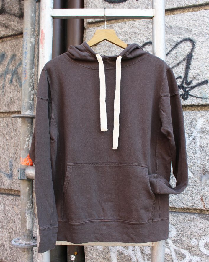 Jungmaven MAUI HOODED Sweatshirt espresso brown_1