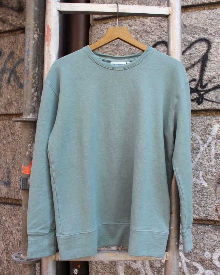 Jungmaven Tahoe Sweatshirt clay green_1