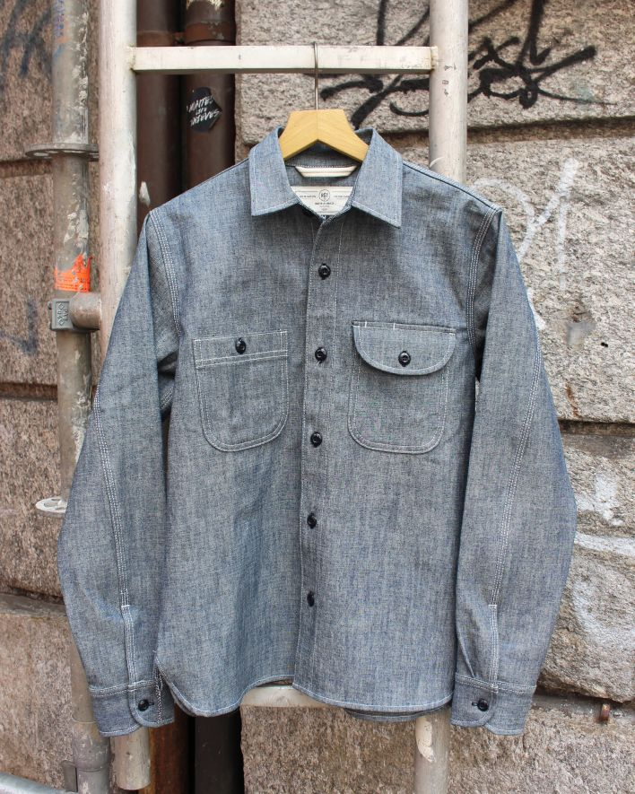 Rogue Territory Work Shirt light indigo Canvas_1