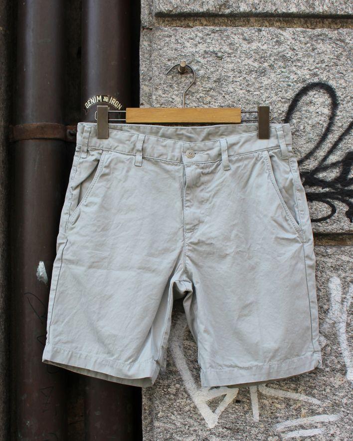 Save Khaki Twill Bermuda Shorts cement_1