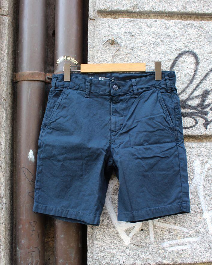 Save Khaki Twill Bermuda Shorts navy_1