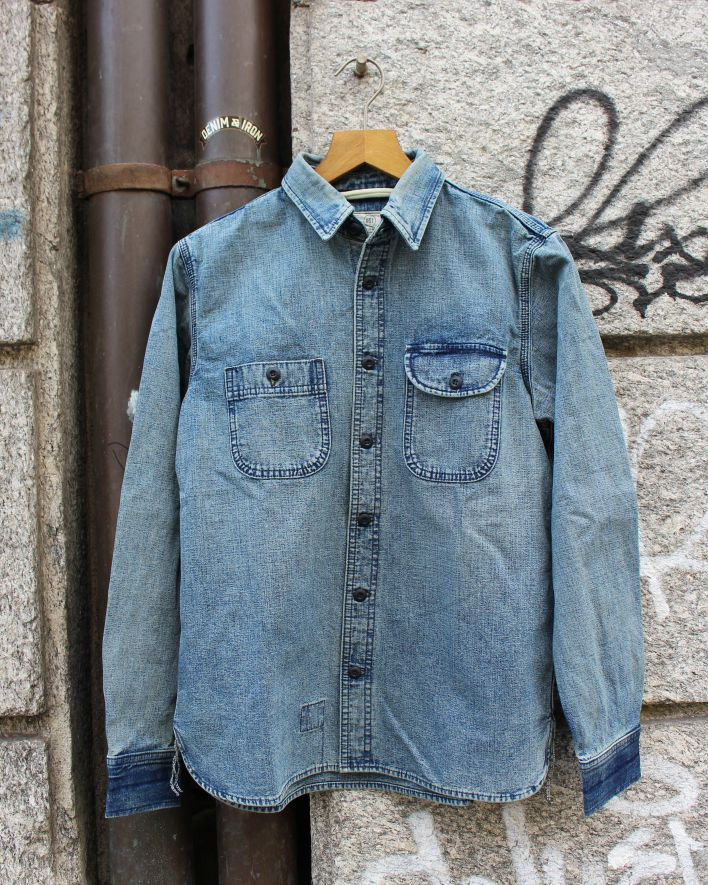 Rogue Territory WORK SHIRT ISC washed out_1