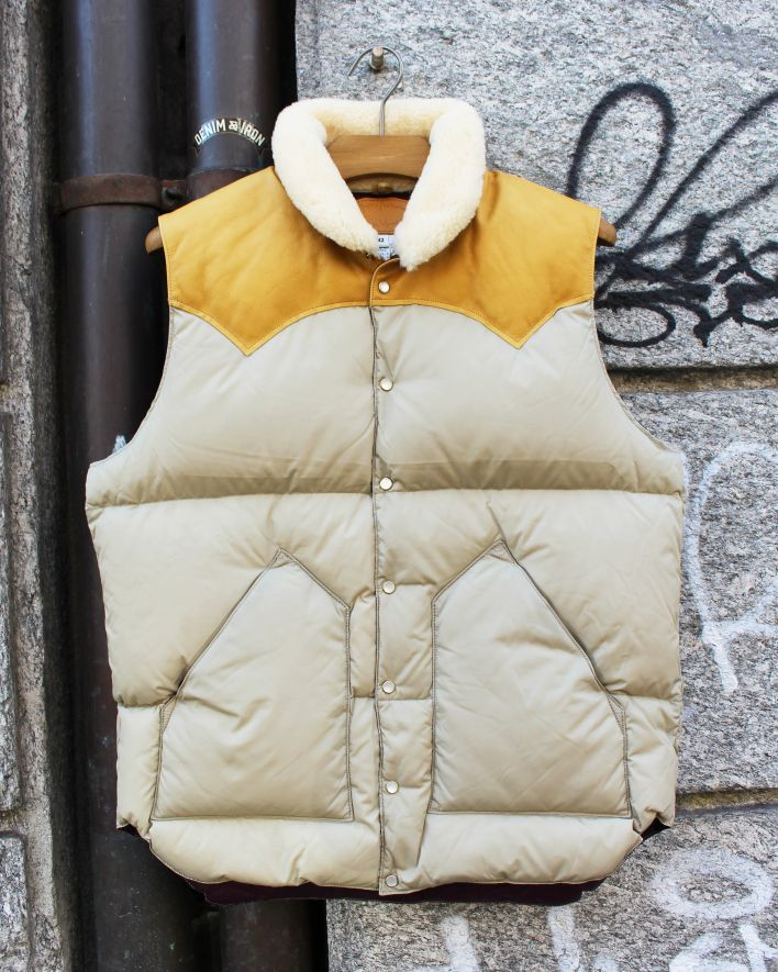 Rocky Mountain Featherbed CHRISTY Down Vest light beige_1