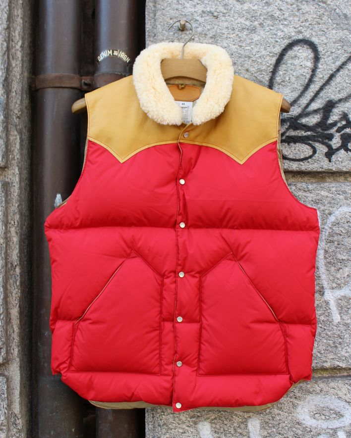 Rocky Mountain Featherbed CHRISTY Down Vest red_1