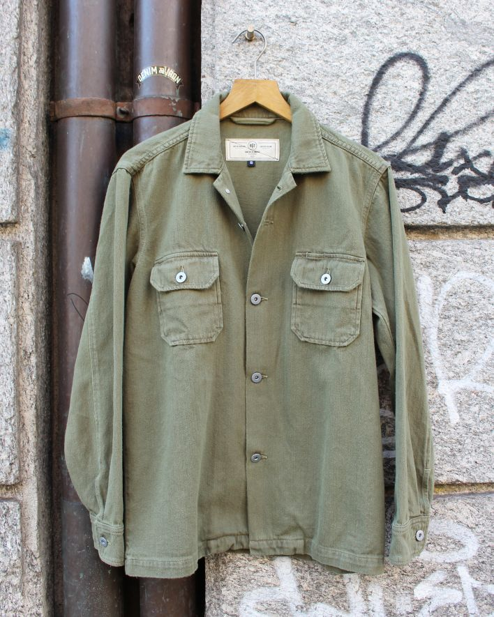 Rogue Territory INFANTRY Shirt overdyed olive_1