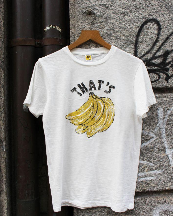 Velva Sheen THAT'S BANANA T-Shirt white_1