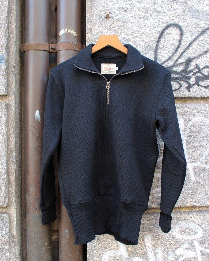 Dehen MOTORCYCLE Sweater black_1
