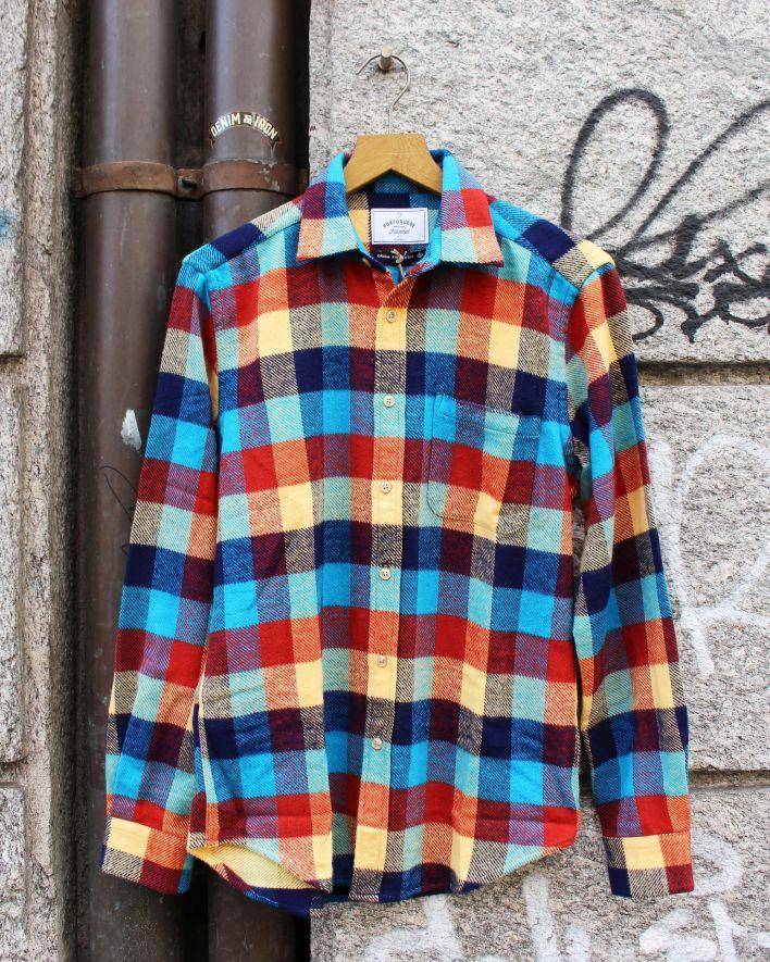 Portuguese Flannel PERFORMANCE CHECK Flannel Shirt_1