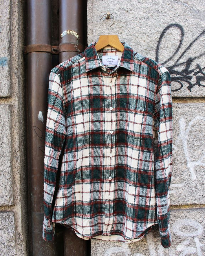 Portuguese Flannel SAINT PATRICK CHECK Flannel Shirt_1