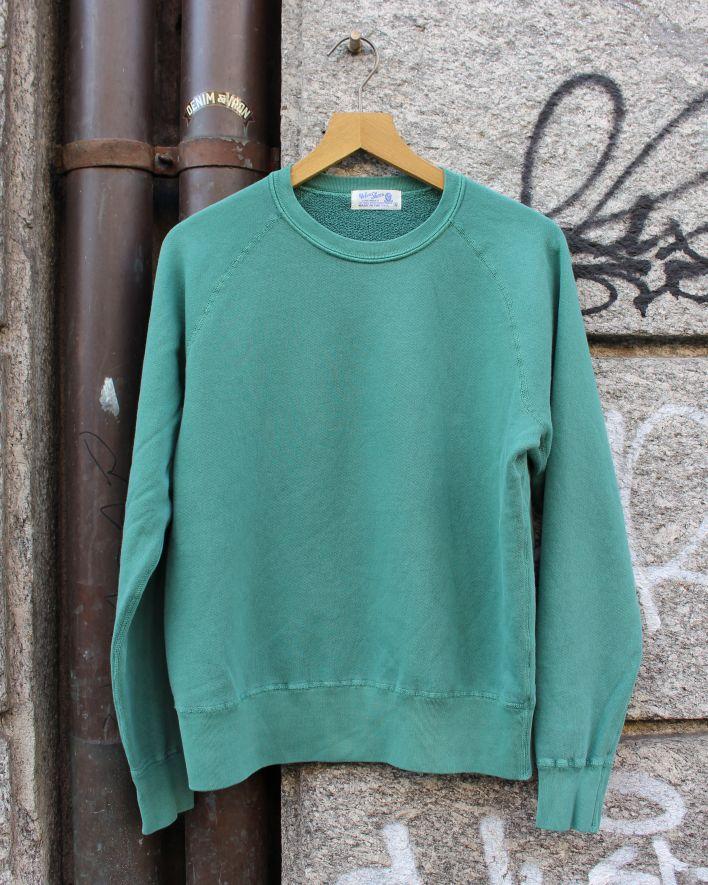 Velva Sheen FREEDOM Crew Neck Sweater 8 oz. pigment evergreen_1